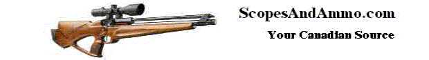 www.scopesandammo.com Canada's Best airgun accessory store